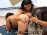 artfzoo k9dolls threesome bestiality – dog cum Latinas