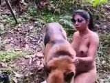 k9 artofzoo new video – outdoor dog sex